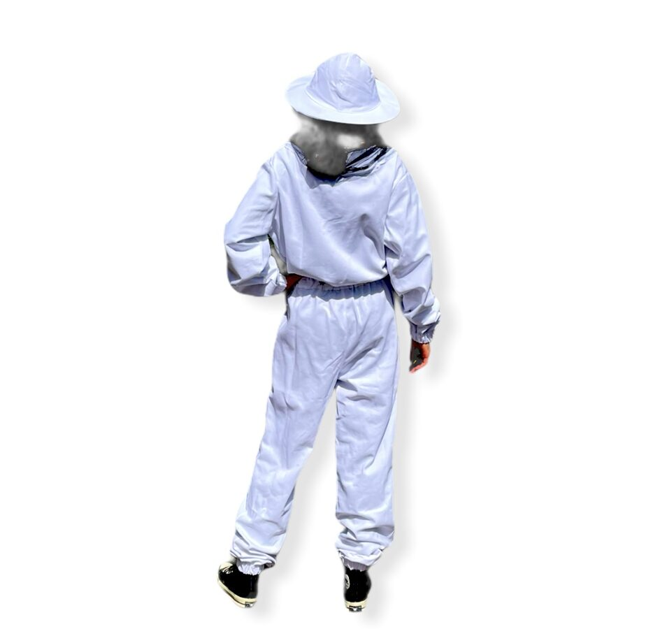 Beekeeper's overalls with a hat