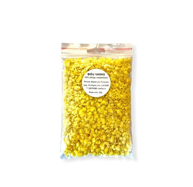 Beeswax, crushed 50 g