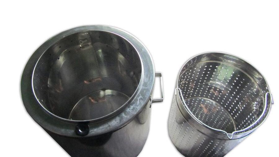 Steam wax melter