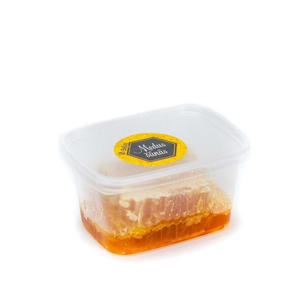 Raw honey combs